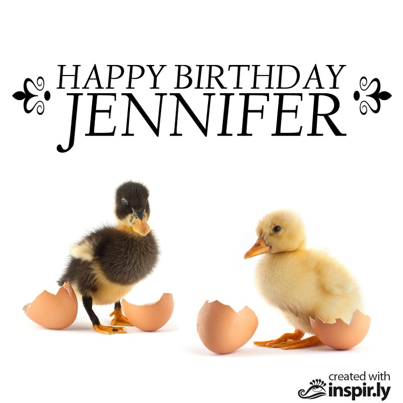 Happy Birthday Jennifer-235288
