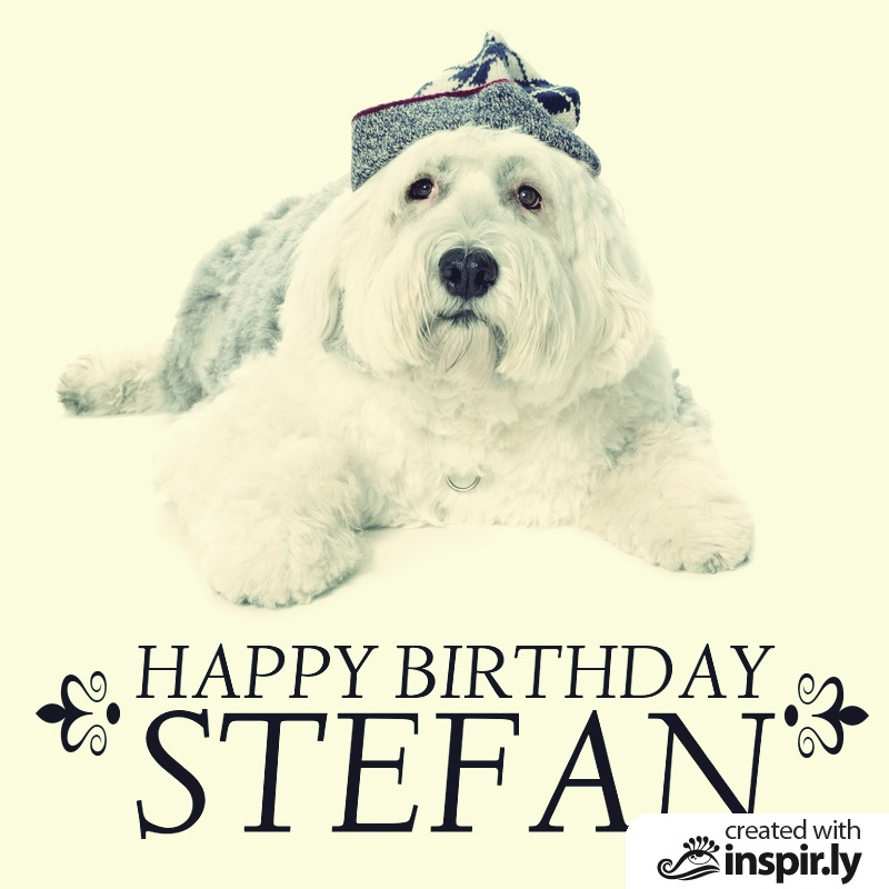 Happy Birthday Stefan-235287
