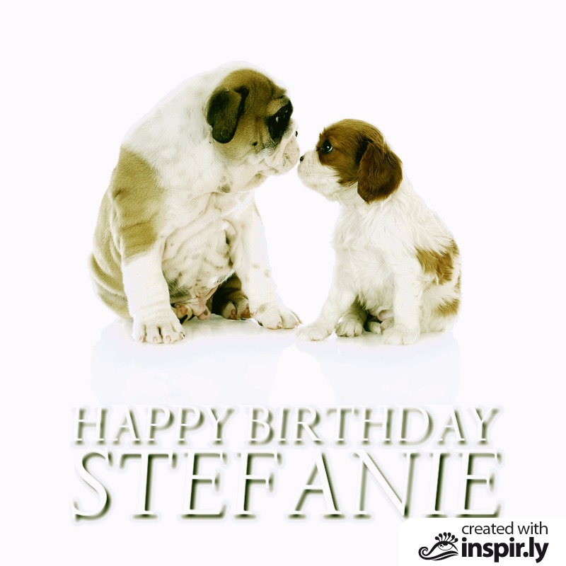 Happy Birthday Stefanie-235286