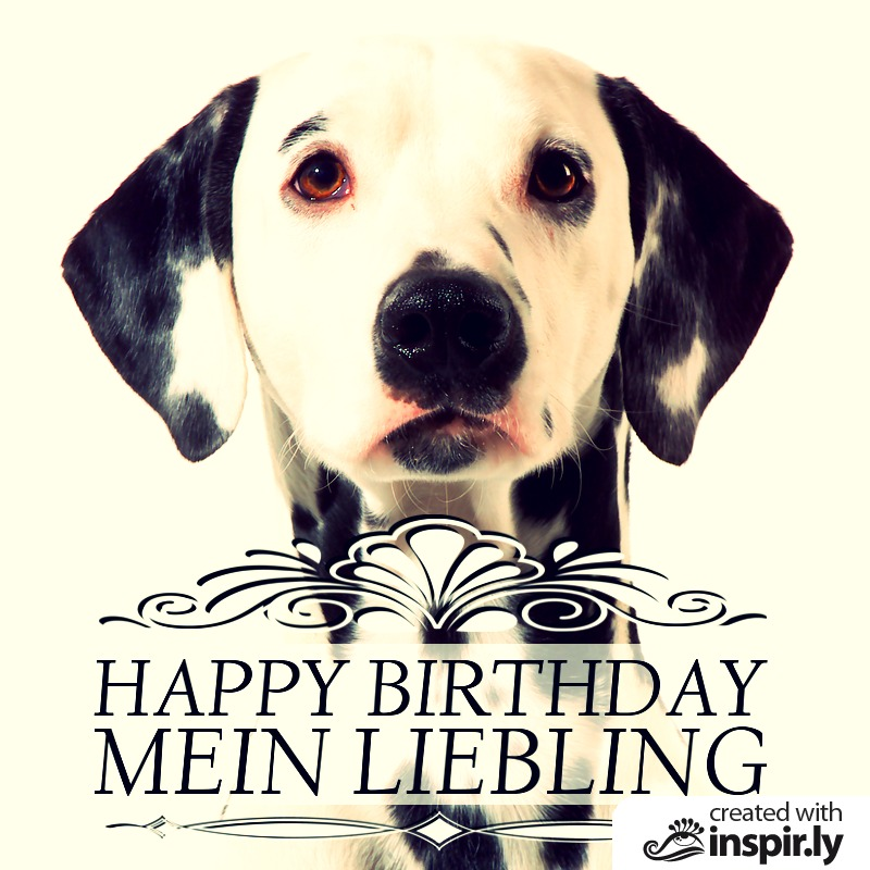 Happy Birthday mein Liebling-235293