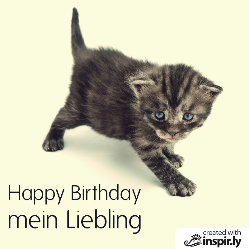 Happy Birthday mein Liebling-235299